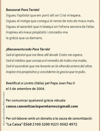 Bienaventurado Pere Tarres