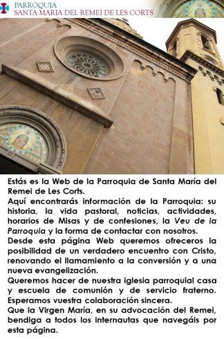 cartel presentación parroquia